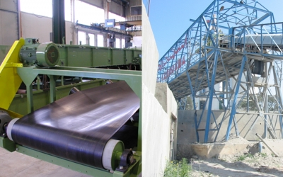 Conveyors, elevators and silos for transport systems
